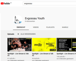 Evgossau Youth youtube